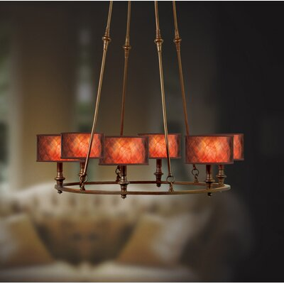 Eurofase Denholm 6 Light Chandelier