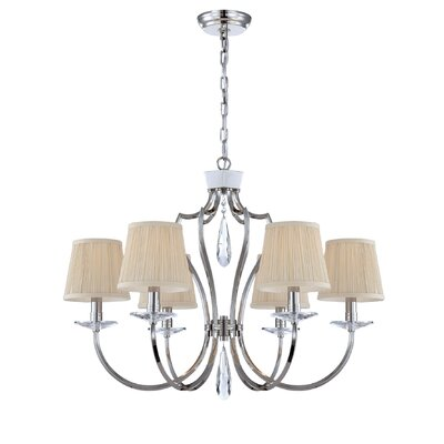 Eurofase Marta 6 Light Chandelier