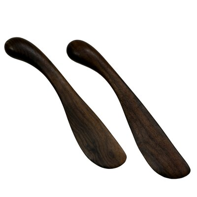 Novica Peten Wood Artisan Sculptors Peten Delicatessen Wood Spreaders (Set of 2)