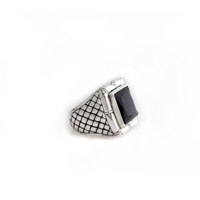 The Putu Gede Darmawan Artisan Onyx Kingdom of Night Men's Ring
