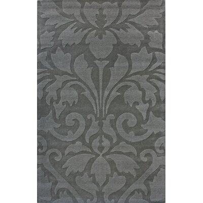 nuLOOM Gradient Damask Grey Rug