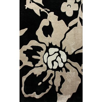 nuLOOM Pop Black Tania Rug