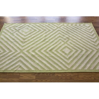 nuLOOM Couture Kilim Diamond Green Rug