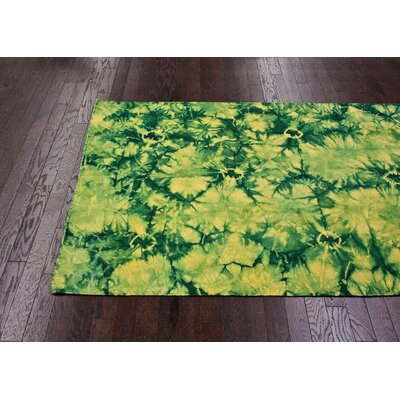 nuLOOM Couture Kilim Splash I Sunshine Rug