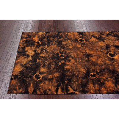 nuLOOM Couture Kilim Splash III Orange Rug
