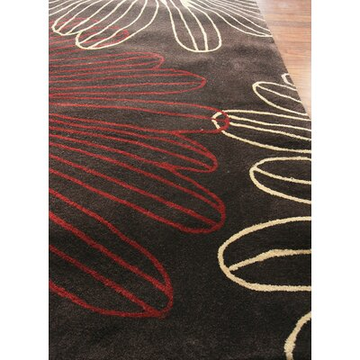 nuLOOM Cine Starburst Brown Rug