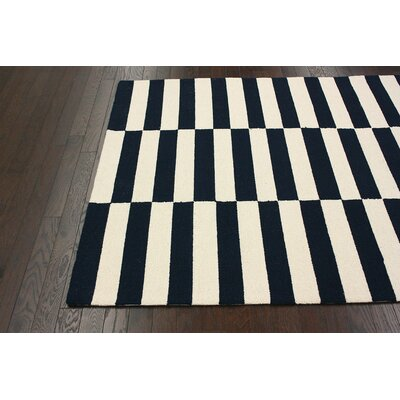 nuLOOM Chelsea Blocks Navy Rug