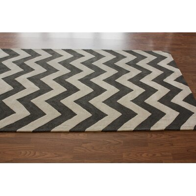 nuLOOM Marrakesh Meridian Chevron Black Rug