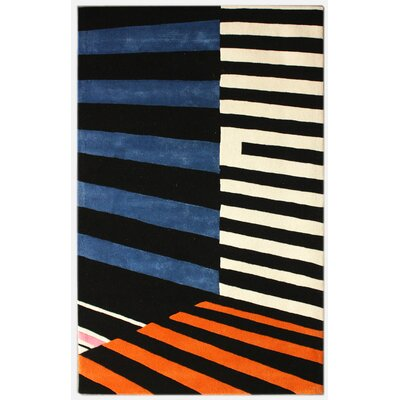 nuLOOM Modella Symmetrical Stripes Multi Rug