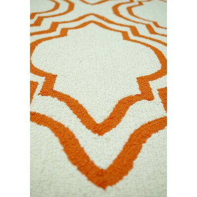 nuLOOM Trellis Orange Moderno Rug