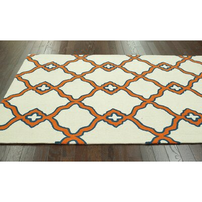 nuLOOM Trellis Orange Naara Rug