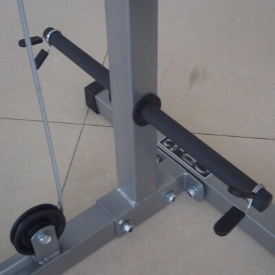 Valor Athletics CB-12 Plate Loading Lat Pull/Curl/Ab Home Gym