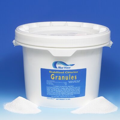 Blue Wave Products Granular Chlorine (Di-Chlor) 10 lbs
