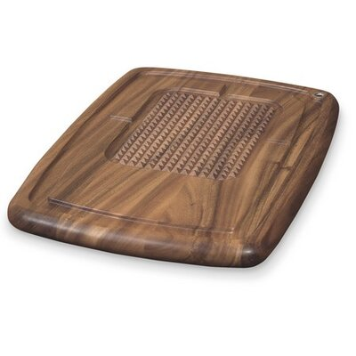 Ironwood Gourmet Memphis Pyramid Carving Board