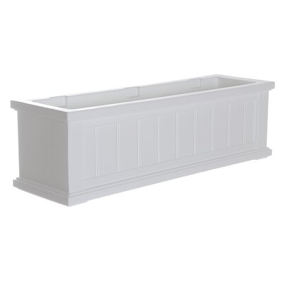 Cape Cod Rectangular Window Box Planter