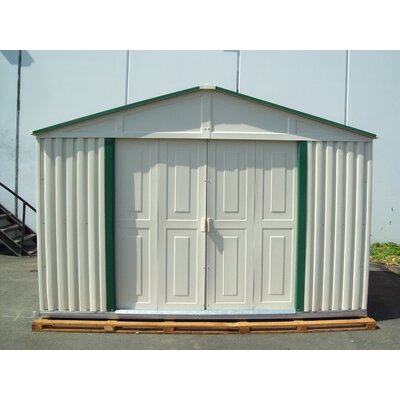 Duramax Building Products Teton Vinyl Garage Shed
