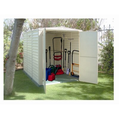 Duramax Building Products YardMate Vinyl Storage Shed