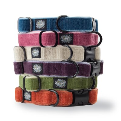 Cozy Hemp Adjustable Dog Collar