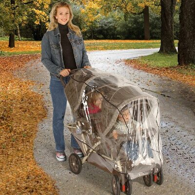 Jeep Baby Products Tandem Stroller Weather Cover Shield