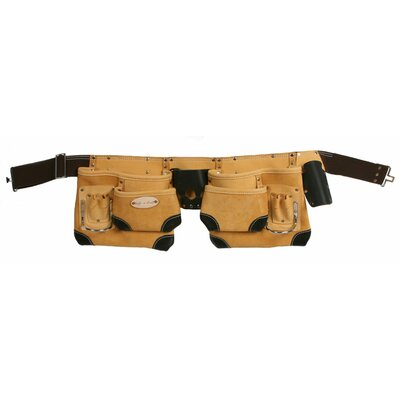 Style N Craft 10 Pocket Tool Belt with Reinforced Corners