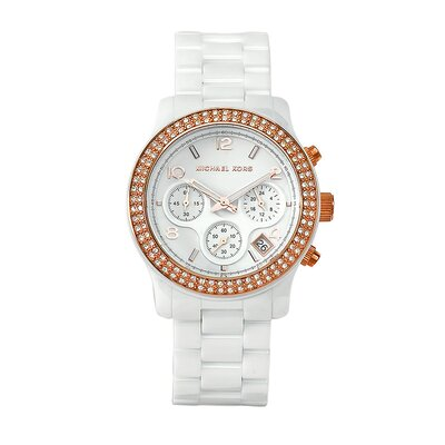 Michael Kors Women's Classic White Ceramic Watch