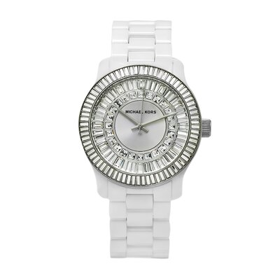 Michael Kors Women's Baguette Crystal Watch
