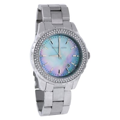 Michael Kors Women's Glitz Watch with Mother of Pearl Dial