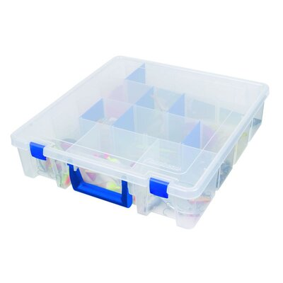Flambeau Tuff Tainer Deep Satchel Box with Zerust Dividers