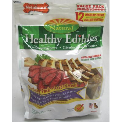 Nylabone Healthy Edibles Variety Dog Treat
