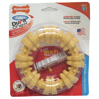Nylabone Souper Dura Chew Textured Ring Doy Toy