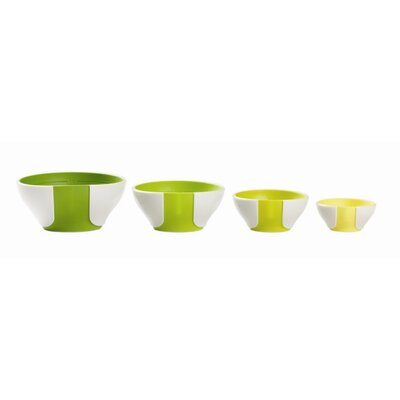 Chef'N Sleekstor Pinch and Pour Prep Bowl (Set of 4)