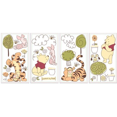 Friendship Pooh Wall Decals