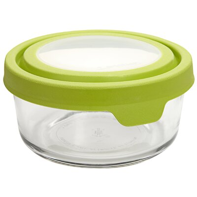 4 Cup Round TrueSeal Glass Storage Container