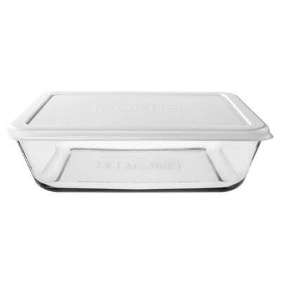 Anchor Hocking 6 Cup Rectangular Kitchen Storage Container
