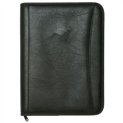 Deluxe Zippered Padfolio
