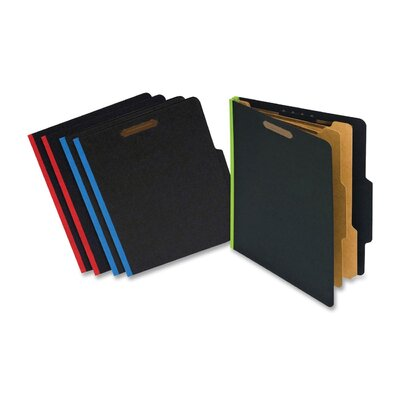 S J Paper Fusion Classification Folder (5 Per Pack)