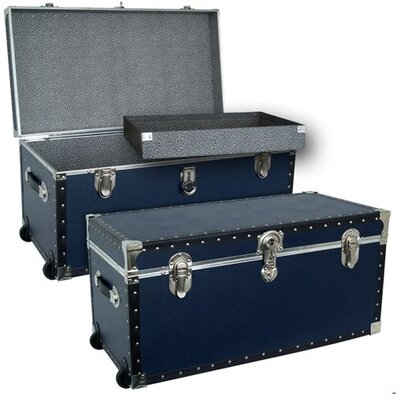Seward Trunk Trailblazer Oversize Trunk with Wheels