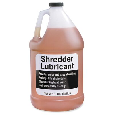 HSM of America,LLC Shredder Lubricant, w/ Funnel, One Gallon