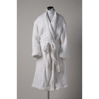 Home Source International Cloud Nine Robe in White