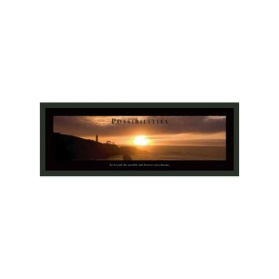 Motivational Framed Possibilities Print - 12
