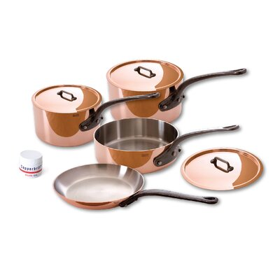 Mauviel M'Heritage Stainless Steel 7-Piece Cookware Set