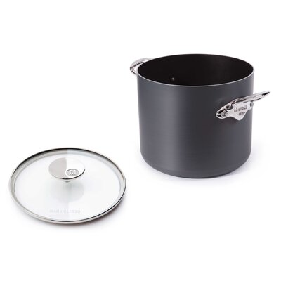 Mauviel M'Stone2 Stock Pot with Glass Lid