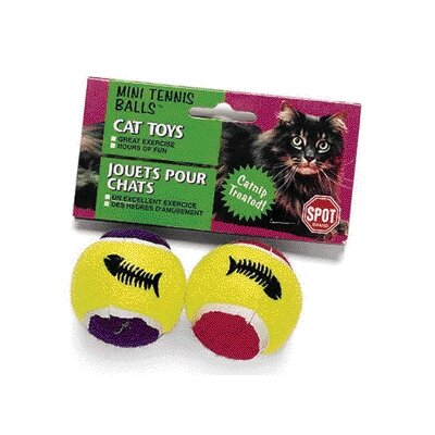Mini Tennis Ball with Catnip Cat Toy