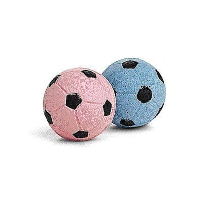 Ethical Pet Sponge Soccer Balls Cat Toy (4 Pack)