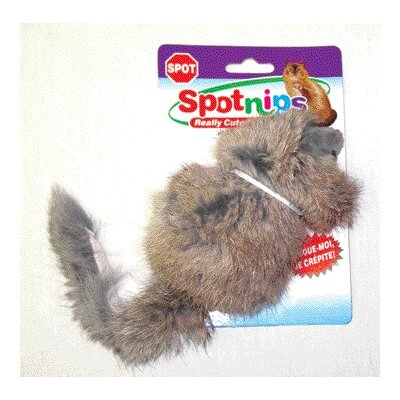 Long Haired Rattle Mouse Cat Toy