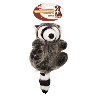 Ethical Pet Spot Woodland Collection Raccoon Dog Toy