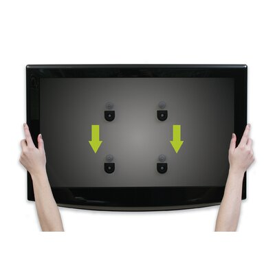 "OmniMount Low Profile Fixed Mount for up to 42"" TV Flat Panels"