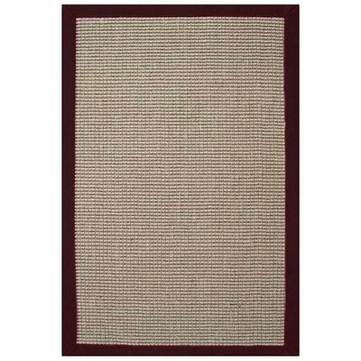 Sisal Natural/Cherry Rug