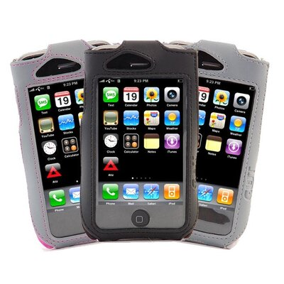 Gut Cases iPhone Sport Sleeve Case with Clip in Gray