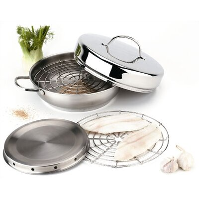 Demeyere Resto 4 Piece Indoor Smoker Set